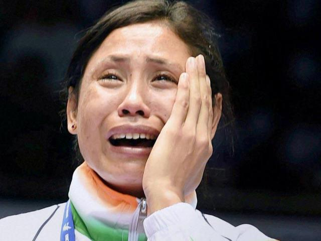 Sarita Devi's loss came as a double blow to India after MCMary Kom's Rio hopes also came to an end earlier in the day.