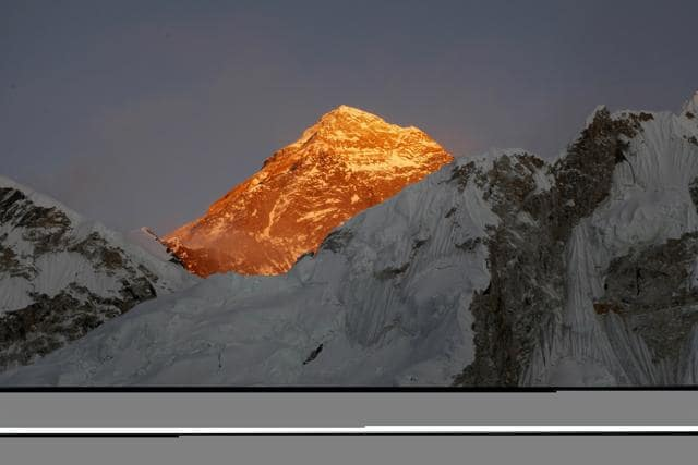 The couple had planned to climb Everest in 2015 but had to postpone their plan due to the earthquake