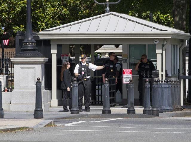 Shooting near White House,US,White House