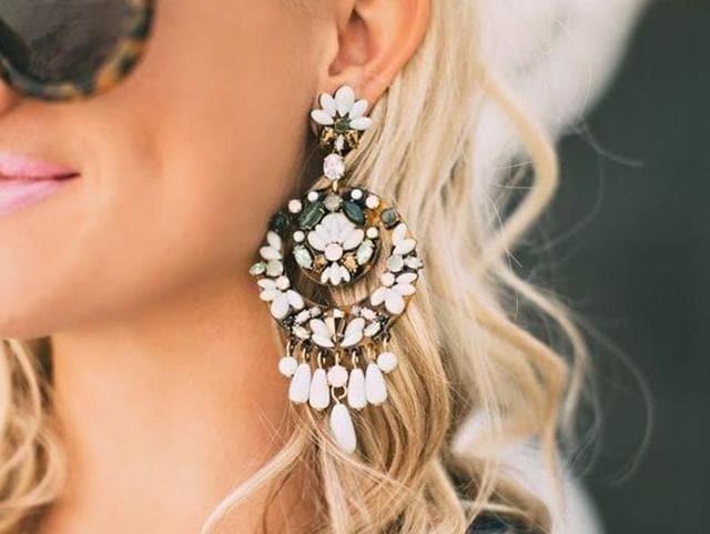 Chandelier Earrings,Hoops,Solitaires