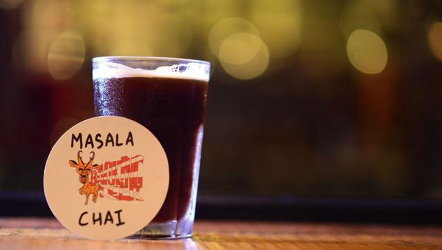 The masala chai brown ale at The Barking Deer is brewed with real tea, cardamom, ginger, cinnamon and clove. It's a monsoon special, and will be available in June.