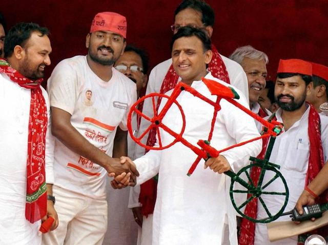 Amit Shah,Akhilesh Yadav,Mayawati