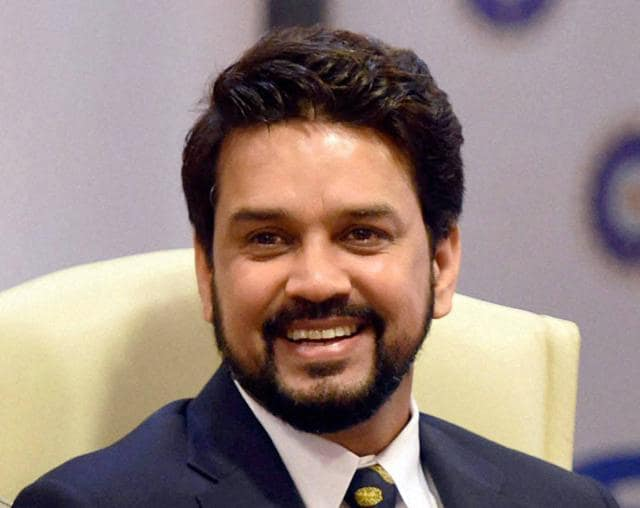 Anurag Thakur, newly-elected president of Board of Control for Cricket in India (BCCI), is the second-youngest to hold the post.