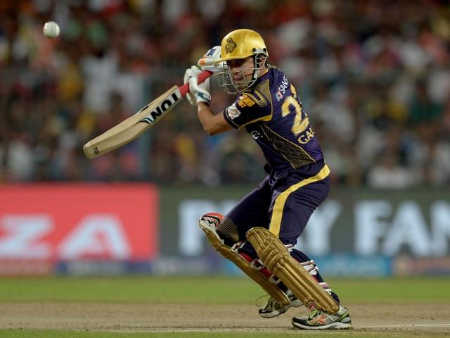Kolkata Knight Riders skipper Gautam Gambhir has recorded three single-digit scores in his last five innings, and the southpaw would like to come good on Sunday. AFP PHOTO