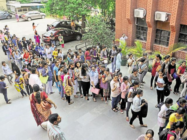 Delhi University colleges will also be allowed to impose new criteria for admissions after the first five cutoff lists.