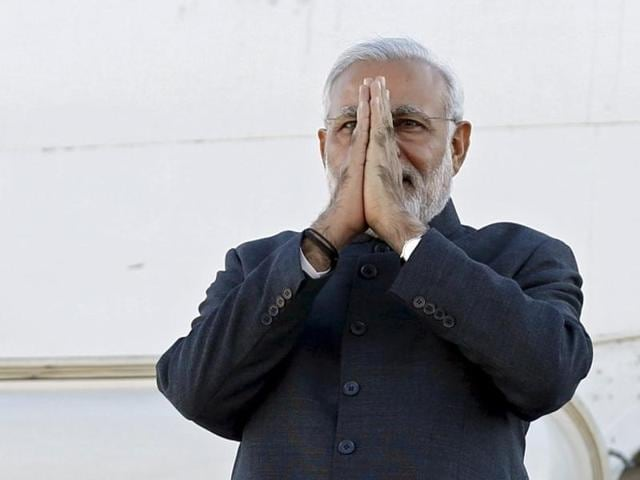 File photo of PMModi. The Indian PMbegins his visit to Iran on May 22, 2016.