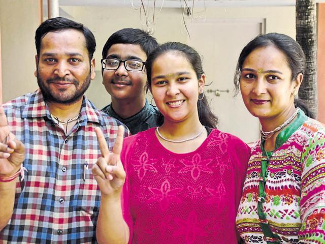 Ludhiana,Commerce student,CBSE results