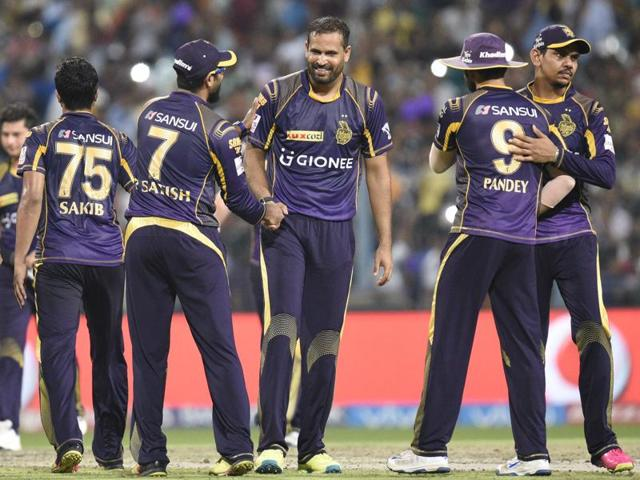 Between the 10th and 12th overs, KKR didn't hit a single boundary but by not losing any wicket they ensured the tail didn't have to worry about batting.