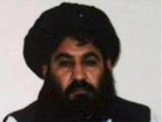 Mullah Akhtar Mohammad Mansour, Taliban militants' new leader, is seen in this undated handout photograph by the Taliban.