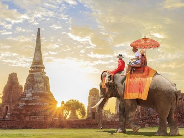 Founded in 1350, Ayutthaya was the second capital of the Siamese kingdom.