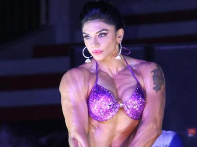"""""""Being a girl, it was a big challenge to pursue bodybuilding as a career.,"""" says Yasmeen Manak"""