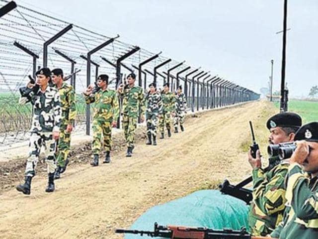 BSF,Border Security Force,Bamyal border post
