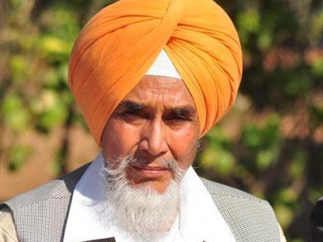 Aam Aadmi Party (AAP) Punjab unit convener Sucha Singh Chhotepur.