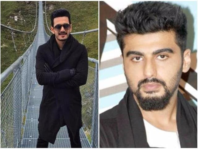 Both, Akhil and Arjun Kapoor are star sons.