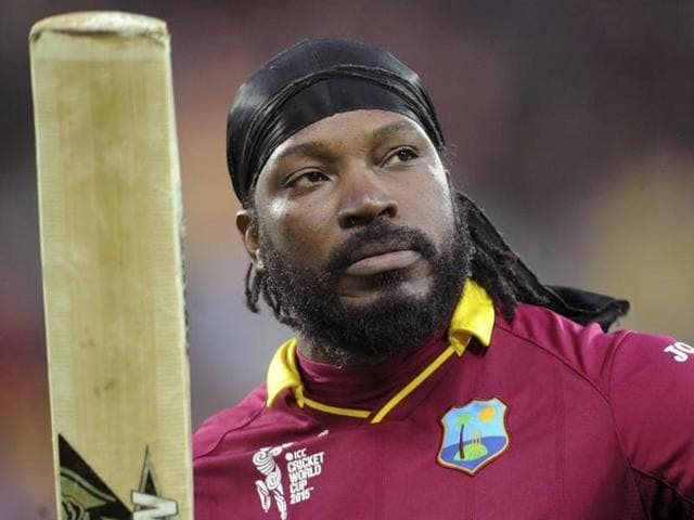 A file photo of West Indies cricketer Chris Gayle.