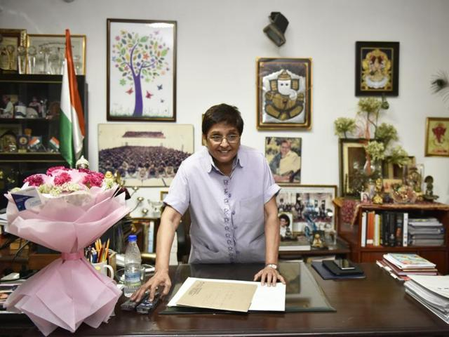 BJP leader and former IPS officer Kiran Bedi, who has been appointed Lt Governor of Puducherry, will be sworn in at a function here on May 29.