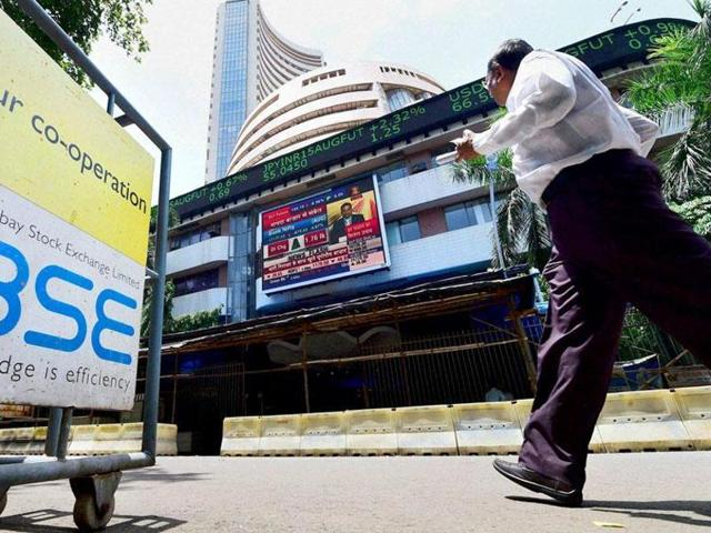 The Sensex surged 217.36 points, or 0.85%, to 25,519.26, with all sectoral indices led by FMCG, metal and realty stocks, in the green, rising by up to 2.85%.