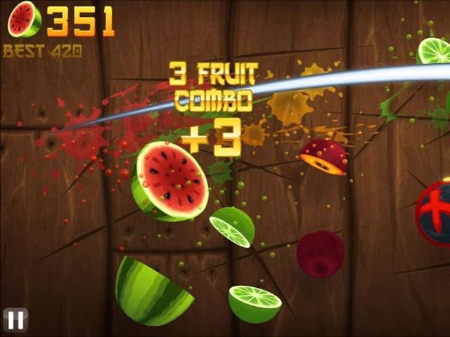 Fruit Ninja has had more than 1 billion downloads and centres on ninjas who slice their way through the likes of pineapples and strawberries.
