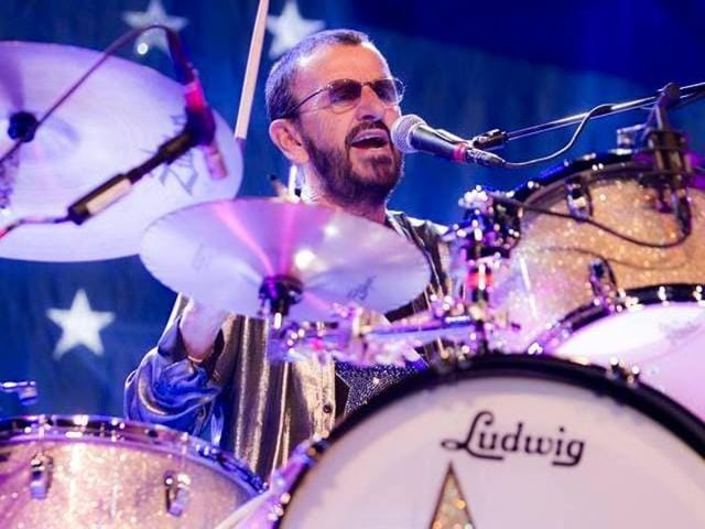 At Joe Walsh's California concert, Ringo Starr joined his brother-in-law onstage for a jam session.