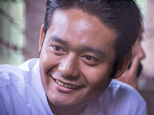 Maung Saungkha, 24, was arrested in November after he shared the short poem.