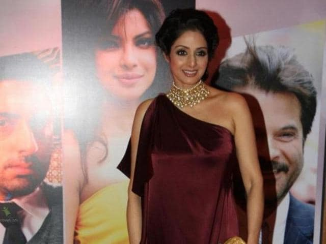Sridevi's comebacj film was directed by Gauri Shinde.