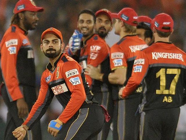 IPL 2016,Royal Challengers Bangalore,Gujarat Lions