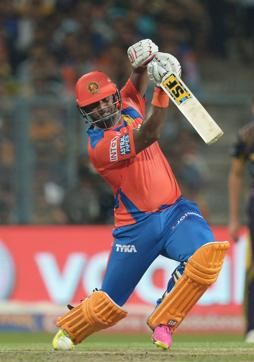Gujarat Lions skipper will hope that Dwayne Smith  gives his team a great start at the top.