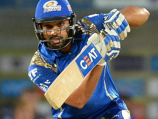 Mumbai Indians batsman Rohit Sharma plays a shot during the 2016 Indian Premier League (IPL).