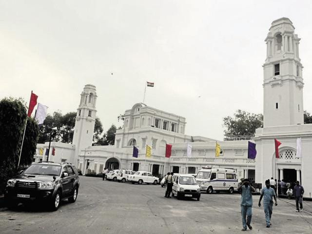 The assembly building is generally secured round-the-clock by 25 Delhi Police and 30 Central Reserve Police Force (CRPF) personnel.