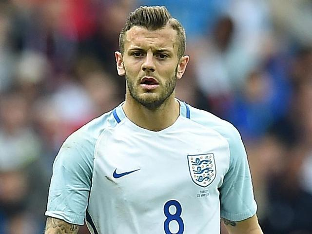 England's midfielder Jack Wilshere during the friendly football match between England and Turkey.