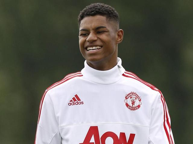 Rashford had to go off in the second half of United's FA Cup final triumph over Crystal Palace with a knee injury but he is in contention to play in the friendly against Australia.