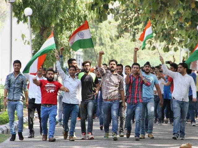 Jammu University vice-chancellor said ABVP has not been banned or targeted and a blanket rule has been applied to groups of all political and religious affiliations.