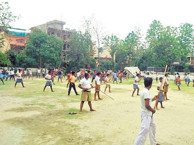 The organisation has hired trainers of judo, karate, nunchaku, stick and sword fighting for training the participants in the camp.