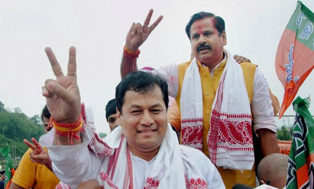 Assam Chief Minister Sarbananda Sonowal and eight out of 11 members of his cabinet are crorepatis (multi-millionaires), while one of them has criminal cases against him, the Association for Democratic Reforms  said on Wednesday.