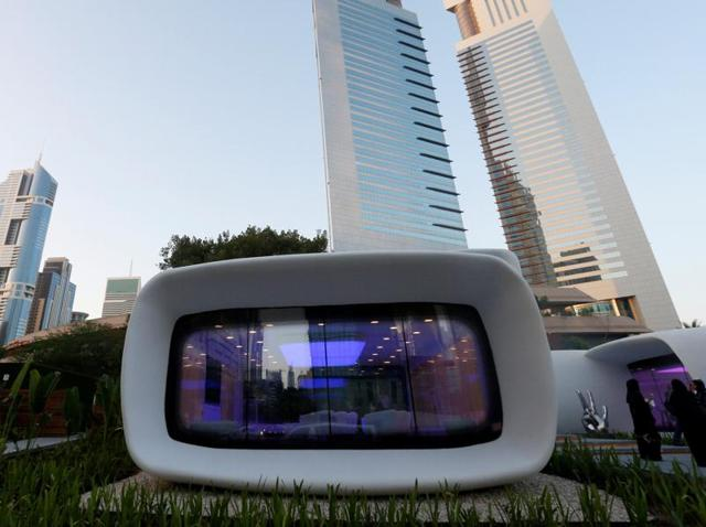 World's first 3D printed office