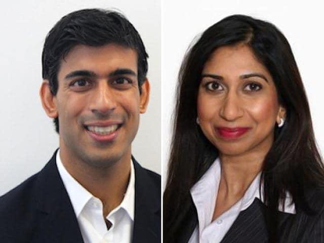 brexit,Rishi Sunak and Suella Fernandes,priti patel