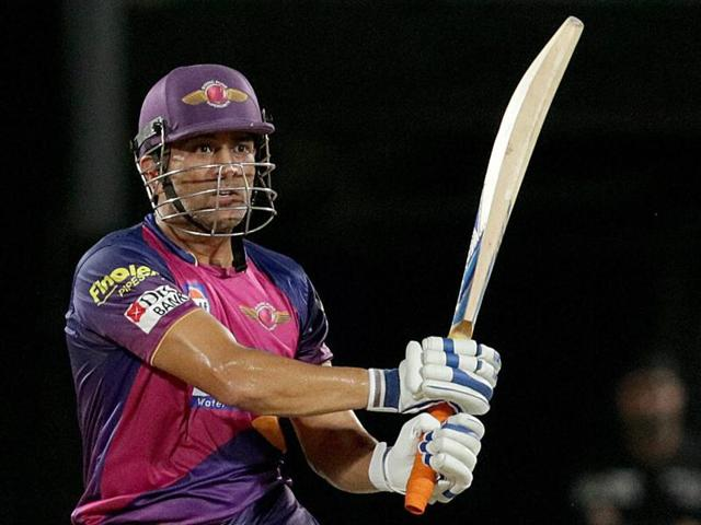 Dhoni has had a poor run in the IPL with his only innings of note, 64 not out, coming in the last league game, well after Rising Pune Supergiants were eliminated.