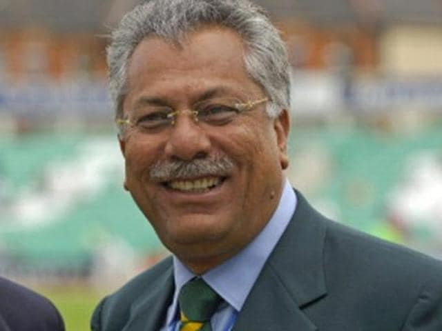 A file photo of ICC President Zaheer Abbas.