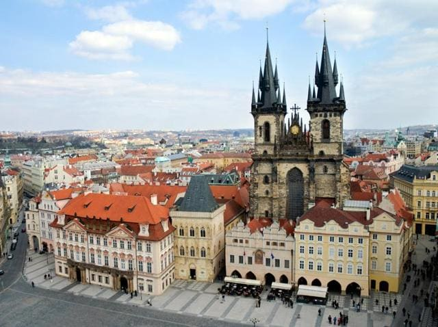 Lufthansa Surprise includes Prague as one of several possible destinations.