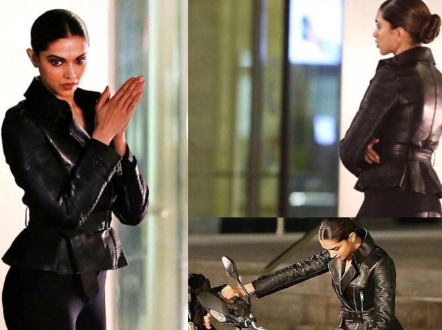 This is probably going to be the last time you get to see Deepika Padukone on the xXx 3 sets. So take a good look.