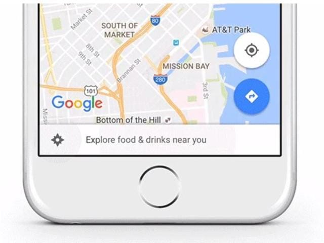 The new feature will show ads automatically to users along their driving route.