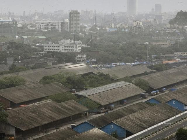A view of the Mumbai landscape.
