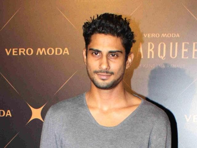 Prateik Babbar will soon be seen in an online series.