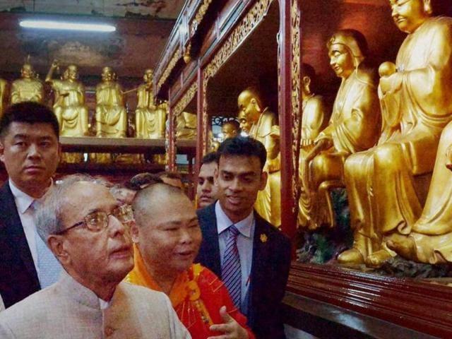 Pranab mukherjee,indian president in china,pranab mukherjee china visit