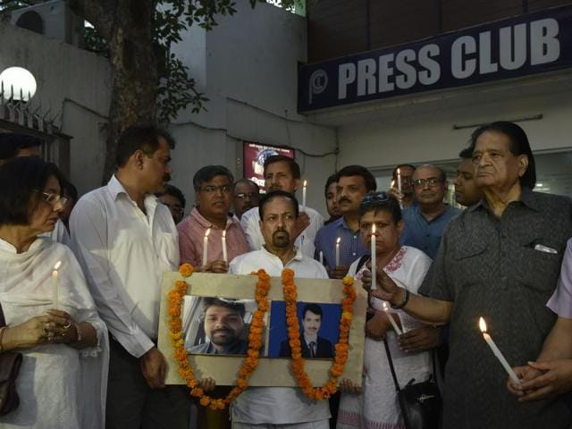Rajdeo Ranjan, a senior journalist for Hindustan, was gunned down in Siwan on May 13. Nine people have been arrested in connection with the case so far.