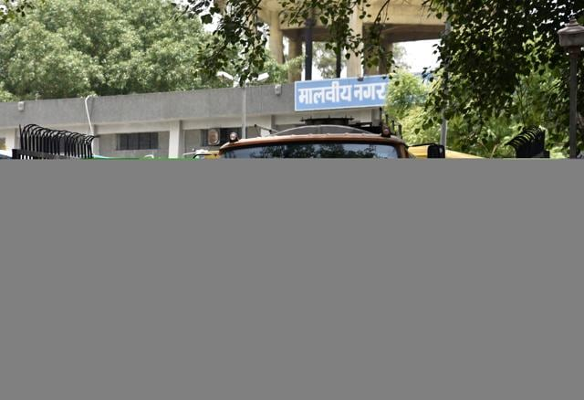 Malviya Nagar,Delhi Jal Board,Water Service Improvement Programme