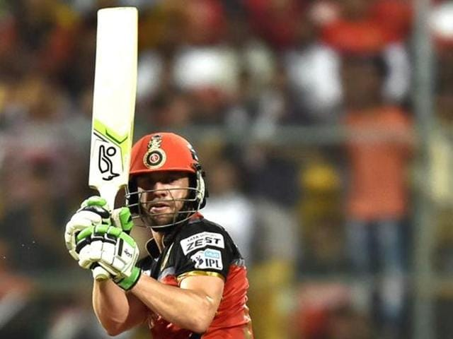 AB de Villiers scored a match winning 79 against Gujarat Lions in the qualifier in Bangalore on Tuesday.