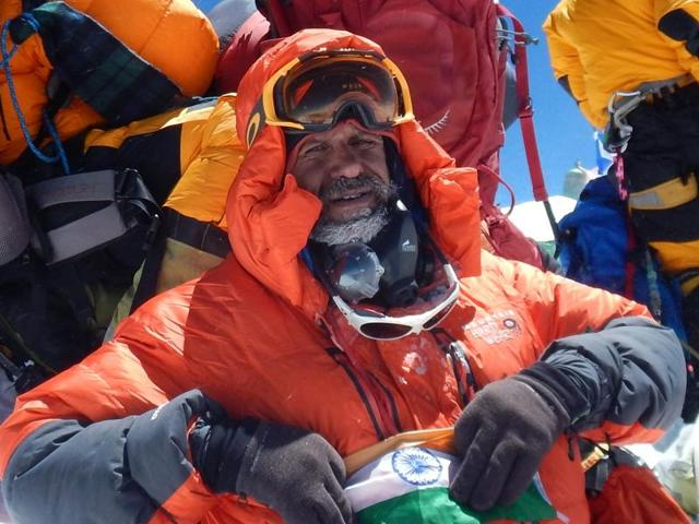 A group of 30 mountain climbers including 55-year-old Ankur Bhal climbed the Mount Everest on May 19.
