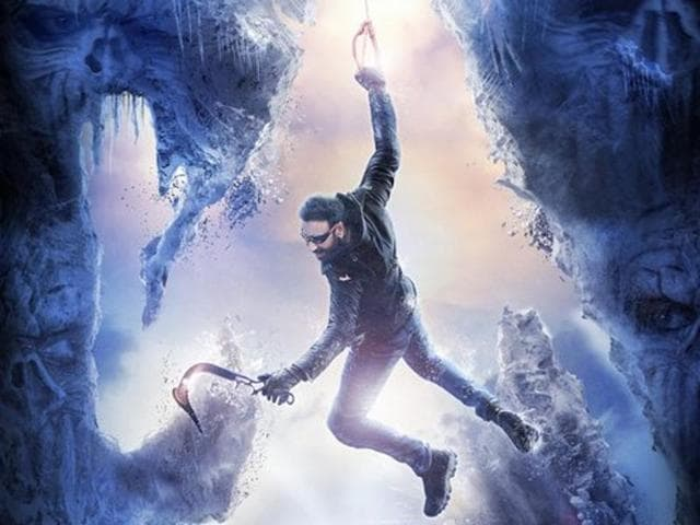 The poster of the movie shows Devgn climbing Lord Shiva's figure with shoes on, which hurts the sentiments of people, the complaint alleges.