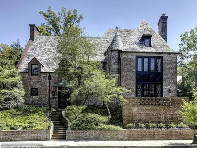 They will move into a $6 million-(around Rs 40 crore) mansion in the upscale Kalorama neighborhood of Washington.